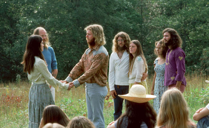 The Farm -  hippie wedding